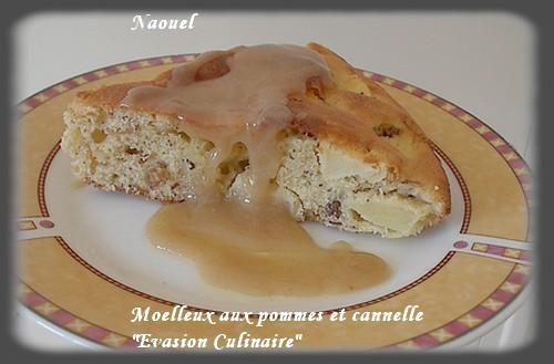 Moelleux aux pommes et cannelle - Tf1 cuisine laurent mariotte moelleux aux pommes ...