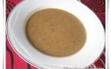 Soupe de lentilles, poireaux et pommes de terre