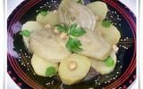 Tajine de fenouil en sauce blanche à la cannelle