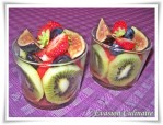 salade de fruits fraise kiwi raisin figue