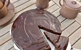 Gâteau patate douce et chocolat