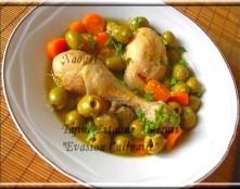 Tajine poulet aux olives