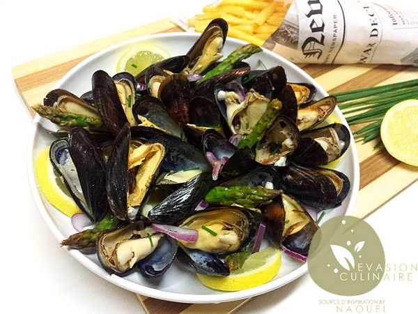 moules-papillote