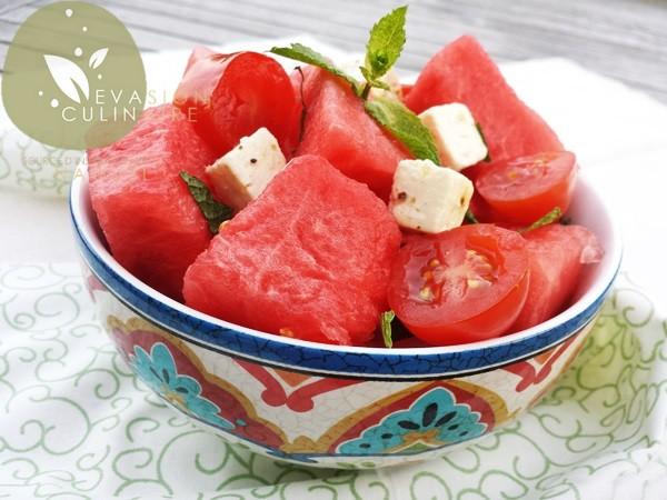 Salade de pasteque feta et menthe - Salade de pasteque ...