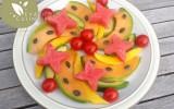Salade sucrée salée de fruits et légumes