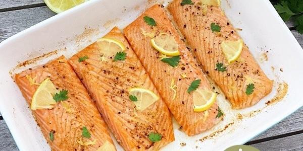 saumon-citron-four