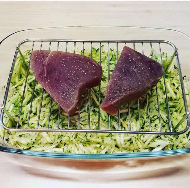 steak de thon recette asiatique. Black Bedroom Furniture Sets. Home Design Ideas
