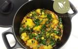 Recette de blettes et pommes de terre en sauce