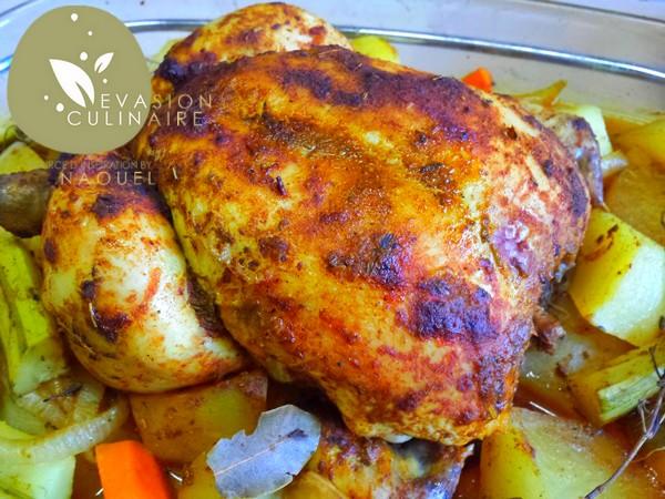 poulet-legumes-vapeur