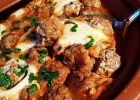 Tajine kefta aux œufs {Maroc}