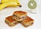 Gâteau Banane, Avoine, Beurre de Cacahuètes et Chocolat {omnicuiseur}