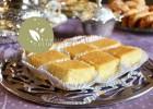 Basboussa noix de coco citron