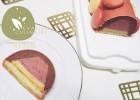 Buche mousse au chocolat et framboise