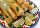Bourek poulet et creme au curry