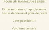 Conseils alimentaires pour un Ramadan sain