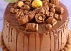 Drip cake au Kinder Bueno