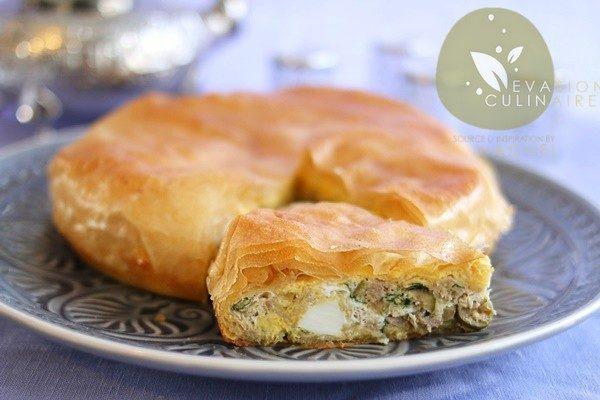 Tajine malsouka tunisien - Cuisine tunisienne tajine ...