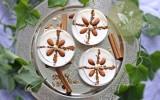 Mhalbi constantinois {crème dessert à la farine de riz}