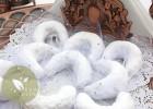 Tcharek msaker, cornes de gazelles au sucre glace