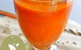 Jus de carotte et curcuma