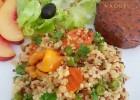 Recette de quinoa et boulgour aux légumes