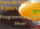 Cure de soupe detox {cure d'hiver}