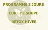 Programme cure soupe detox {3 jours}